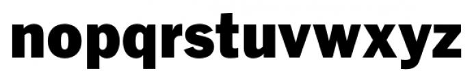 FullerSansDT Black Font LOWERCASE