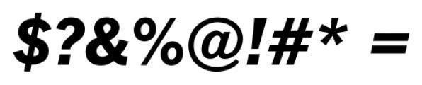 FullerSansDT ExtraBold Italic Font OTHER CHARS