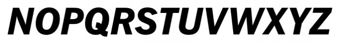 FullerSansDT ExtraBold Italic Font UPPERCASE
