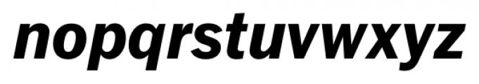 FullerSansDT ExtraBold Italic Font LOWERCASE