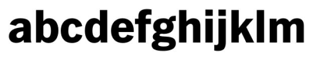 FullerSansDT ExtraBold Font LOWERCASE