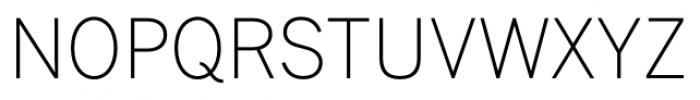 FullerSansDT ExtraLight Font UPPERCASE
