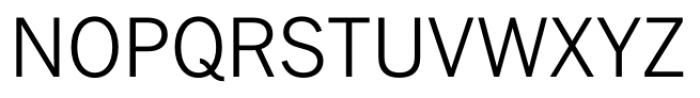 FullerSansDT Light Font UPPERCASE