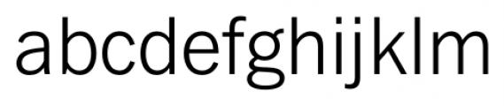 FullerSansDT Light Font LOWERCASE