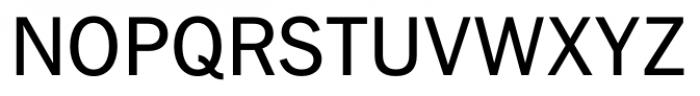 FullerSansDT Regular Font UPPERCASE
