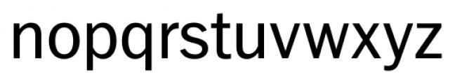 FullerSansDT Regular Font LOWERCASE
