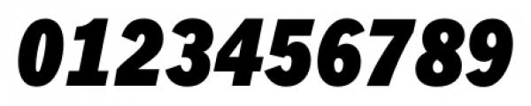 FullerSansDTCond Black Italic Font OTHER CHARS