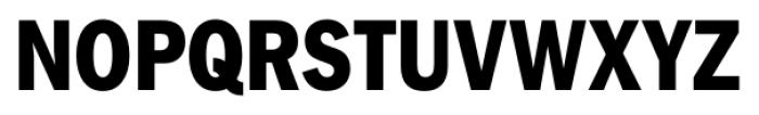 FullerSansDTCond Extra Bold Font UPPERCASE