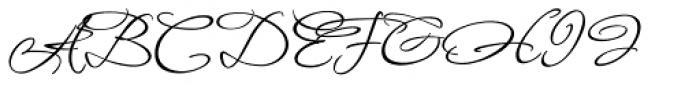 Fuggles Nine Font UPPERCASE
