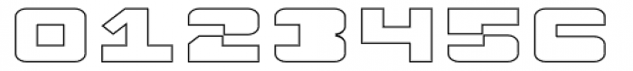 Fugues Solid Outline Font OTHER CHARS
