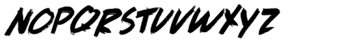 Full Blast Italic II Font UPPERCASE