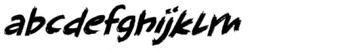 Full Blast Italic II Font LOWERCASE