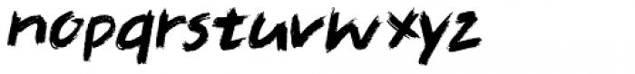 Full Blast Italic I Font LOWERCASE