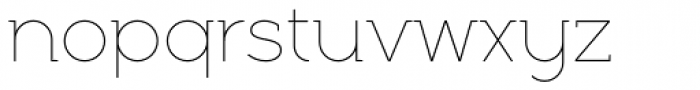 Full Neue LC 10 Thin Font LOWERCASE