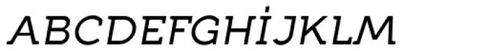 Full Neue SC 50 Italic Font LOWERCASE