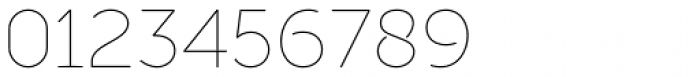 Full Sans LC 10 Thin Font OTHER CHARS