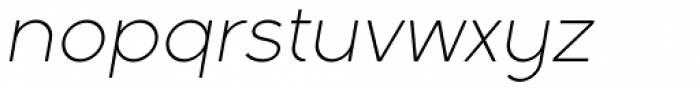 Full Sans LC 30 Light Italic Font LOWERCASE