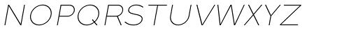 Full Sans SC 10 Thin Italic Font LOWERCASE