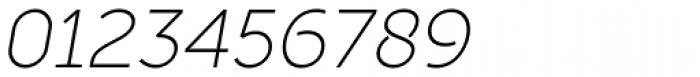 Full Sans SC 30 Light Italic Font OTHER CHARS