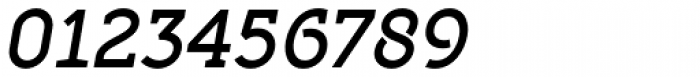 Full Slab LC 70 Medium Italic Font OTHER CHARS