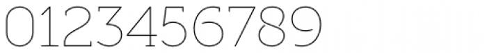 Full Slab SC 10 Thin Font OTHER CHARS