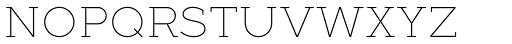 Full Slab SC 10 Thin Font LOWERCASE