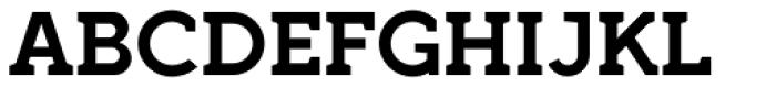 Full Slab SC 90 Bold Font UPPERCASE