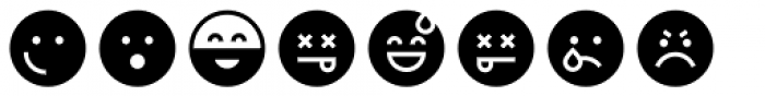 Full Tools 11 EMO Round Font OTHER CHARS