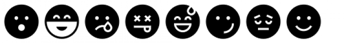 Full Tools 11 EMO Round Font UPPERCASE