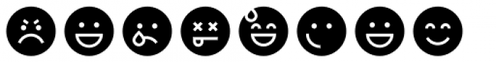 Full Tools 11 EMO Round Font LOWERCASE