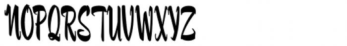 Fuller Brush NF Font UPPERCASE