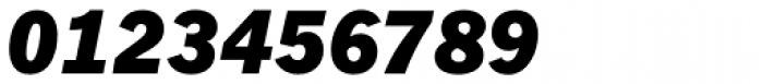 Fuller Sans DT Black Italic Font OTHER CHARS