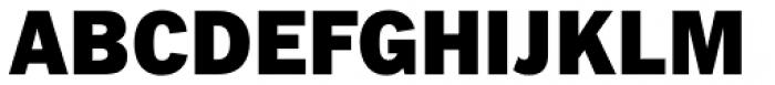 Fuller Sans DT Black Font UPPERCASE