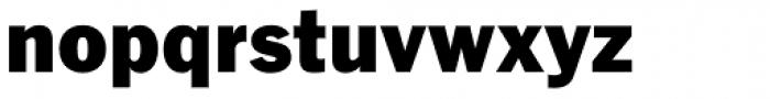 Fuller Sans DT Black Font LOWERCASE