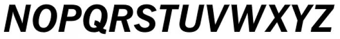 Fuller Sans DT Bold Italic Font UPPERCASE