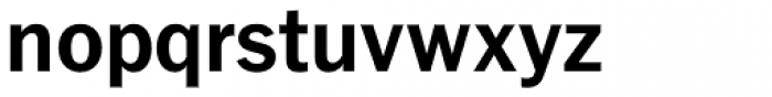 Fuller Sans DT Bold Font LOWERCASE