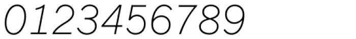Fuller Sans DT ExtraLight Italic Font OTHER CHARS