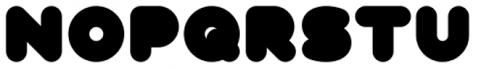Fun City Level 5 Basic Font UPPERCASE