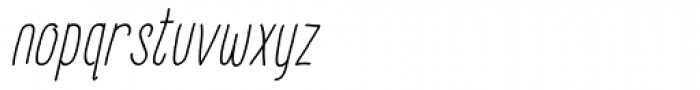 FunFair Italic Font LOWERCASE