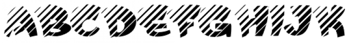 FunFont Shade Font UPPERCASE