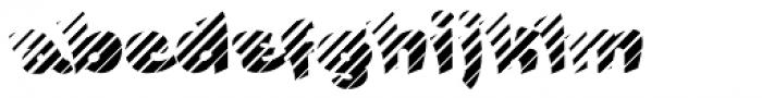 FunFont Shade Font LOWERCASE