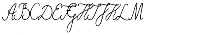 Funghi Mania Script Font UPPERCASE