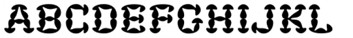 Fungia Font LOWERCASE