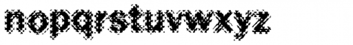 Funky No 12 Font LOWERCASE