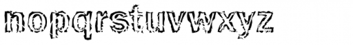 Funky No 13 Font LOWERCASE