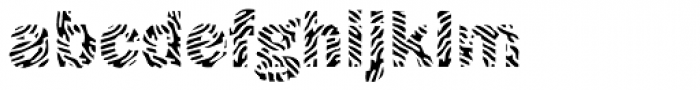 Funky No 5 Font LOWERCASE