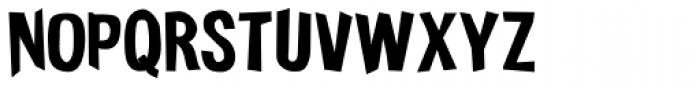 Funkywarp Font UPPERCASE