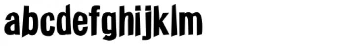 Funkywarp Font LOWERCASE