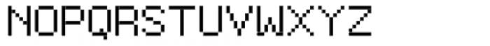 Furniture Type Em Font UPPERCASE