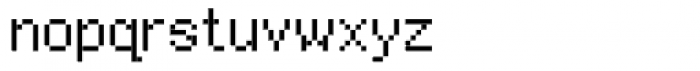 Furniture Type Em Font LOWERCASE